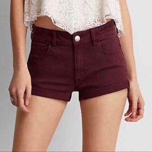 American Eagle | Hi-Rise Shortie Stretch